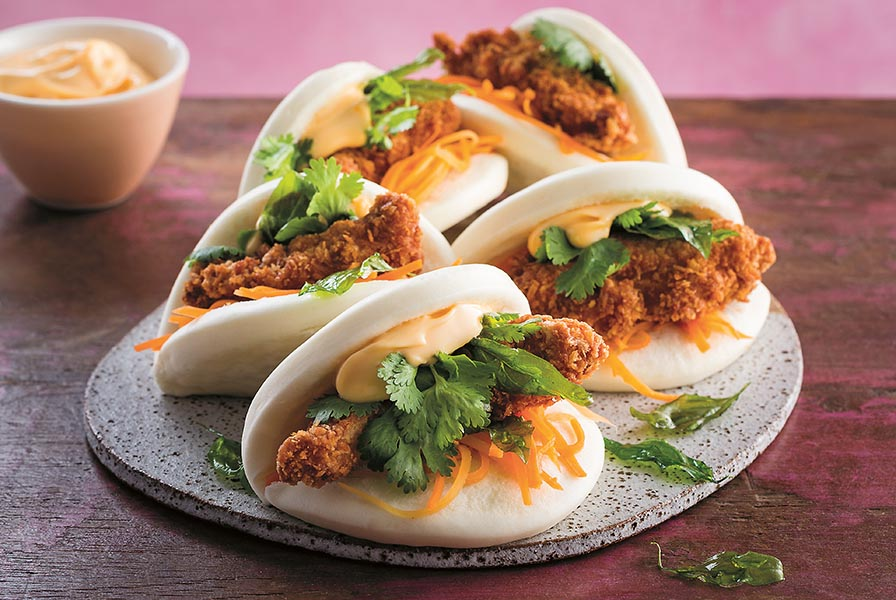 Chicken Bao pp107