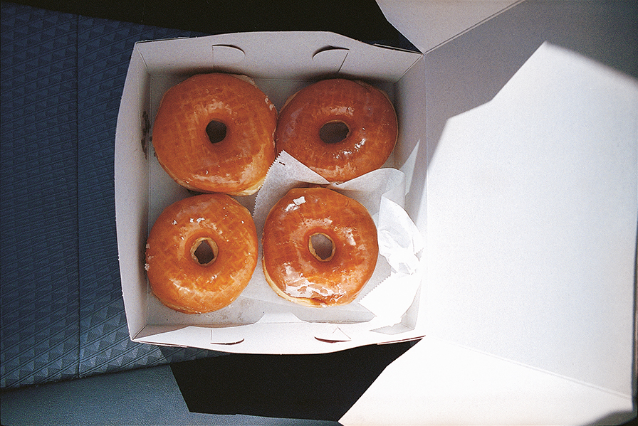 Vanilla donuts color