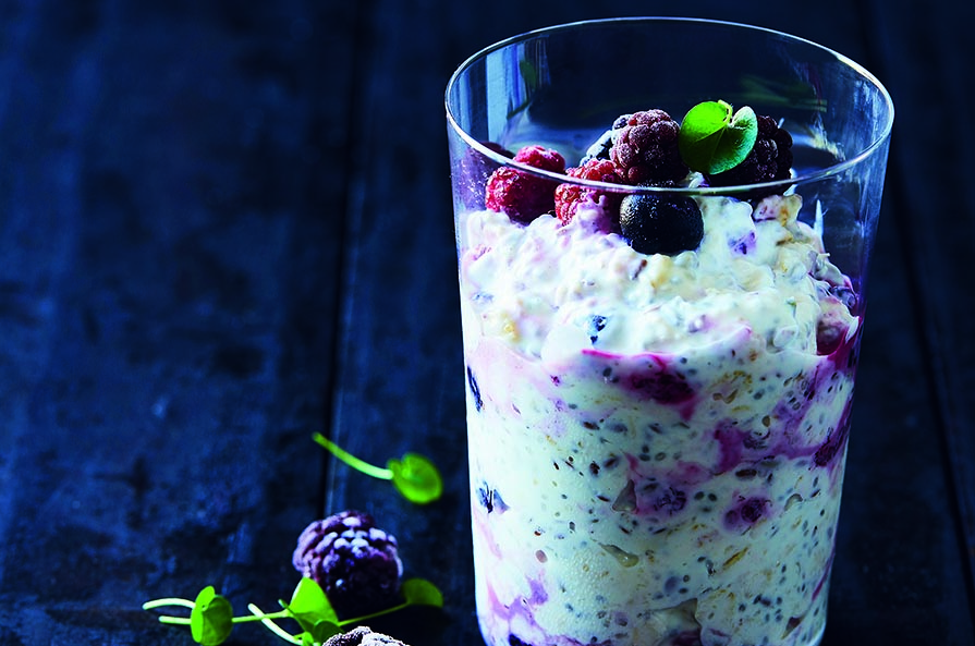 Get-up-and-go Overnight Oats