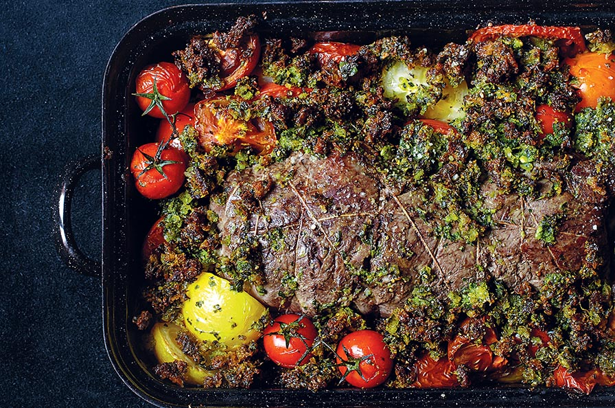 Recipes from one knife one pot one dish murdoch books uk roast beef a la provencal pp46 forumfinder Images