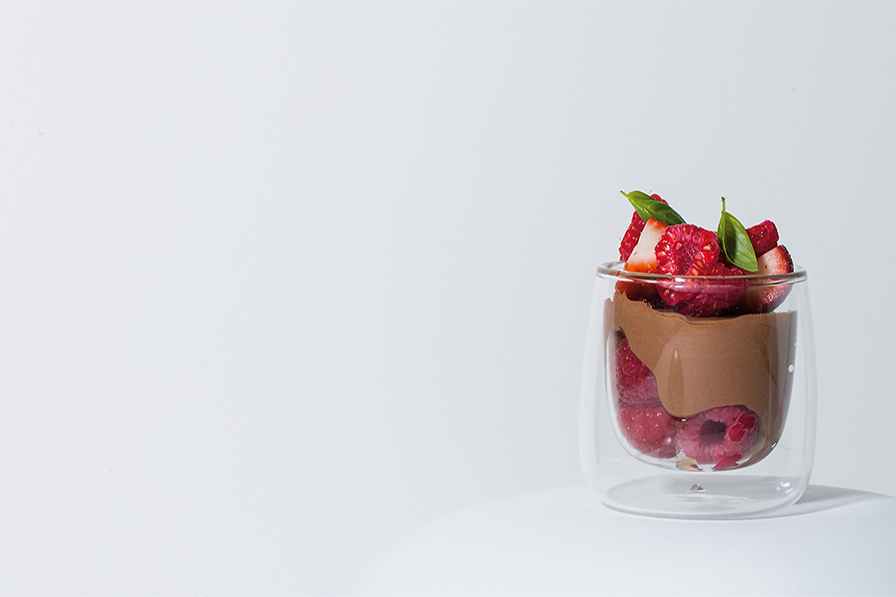 BERRY CHOC MOUSSE